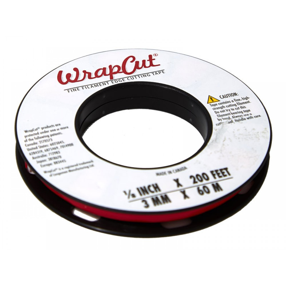 3mm x 60m no need for knives Wrapcut vehicle wrap// vinyl filament trimming tape