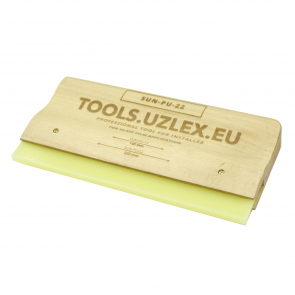 WOODEN SQUEEGEE FOR PROTECTIVE FILMS, SUN-PU-22