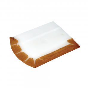 HARD ERGONOMIC SQUEEGEE WITH TEFLON PROTECTOR