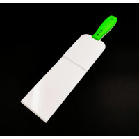 Green Plastic scraper XL