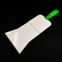 Green Plastic scraper XXL