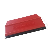 UNIVERSAL SQUEEGEE FOR FILM APPLICATION HARD RED