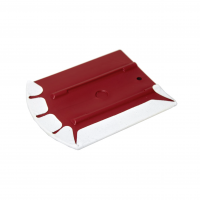 SEMI-SOFT ERGONOMIC SQUEEGEE WITH MICROFIBER PROTECTOR