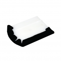 HARD ERGONOMIC SQUEEGEE WITH FELT PROTECTOR