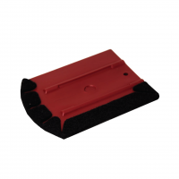 SEMI-SOFT ERGONOMIC SQUEEGEE WITH FELT PROTECTOR