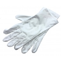 UZLEX FIBER high-quality hand wrap gloves, white (1 pair)