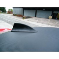 Black Carbon Fibre Poly