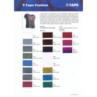 T-Tape Fashion color card