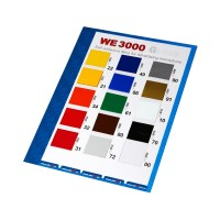 WE 3000 color card