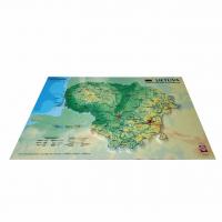 3D карта Литвы, A3 (420 x 297мм)