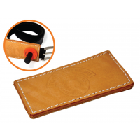 LEATHER PROTECTION FOR BELT BUCKLE