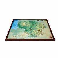 Ierāmēta Lietuvas 3D Karte, A3 (420 x 297mm)