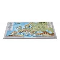 Pastkarte ar Eiropas 3D karti, 170 x 120mm