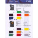 T-Tape Flock color card