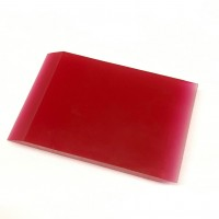 PU small red squeegee