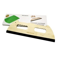 BIG WOODEN FELT SQUEEGEE