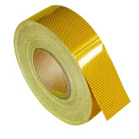 Light-reflective yellow tape